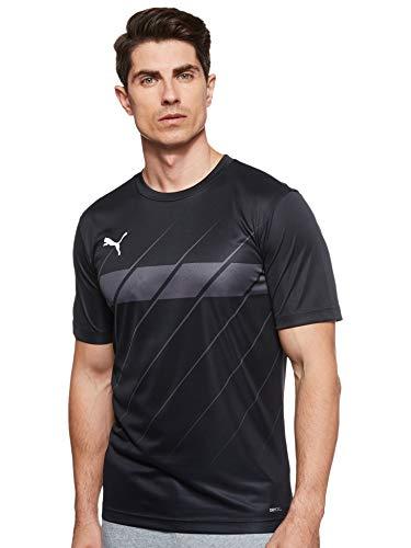 PUMA Ftblplay Graphic Shirt für Herren XL Puma Schwarz-Asphalt