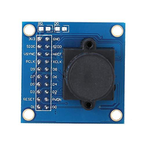 Cameramodul 640x480 infrarood filterlens OV7725 Compatibel met SCCB I2C IIC bewakingscamera's, deurbel- en toetsensystemen, biologische microscoop