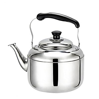DreamInn Stainless Steel Stove top Teakettle Whistling Teapot (2 Liter)