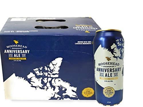 Moosehead - Anniversary-Ale 5.7% Alc. - 24 x 473 ml original aus Kanada Bier Beer