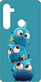 Amagav ® Printed Stylish Silicone Soft Matte Finished Mobile Back Cover Case Compatible for Oppo Realme 5 & 5S & 5i & Narz...