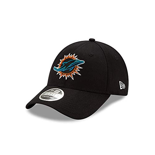 New Era Miami Dolphins 9forty Stretch Snapback Cap NFL 2020 Draft Black - One-Size