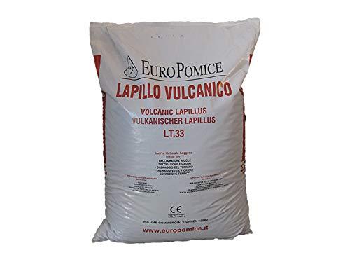 Geosism & Nature Lapillo vulcanico, Lava vulcanica 10/16 mm (c.ca 33 kg - 33 lt)
