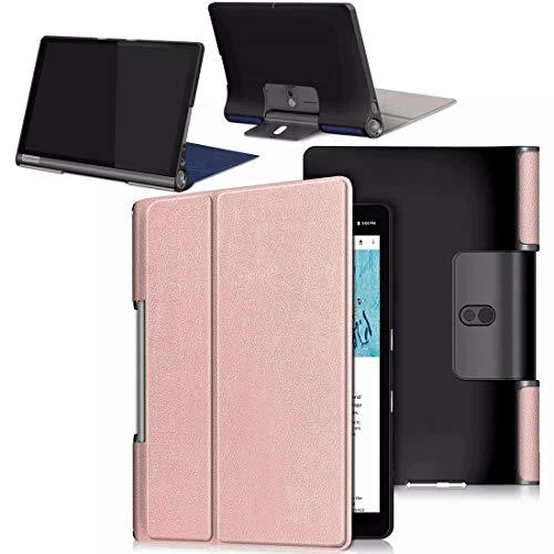 yoga tablet HYMY Custodia per Tablet Lenovo Yoga Smart Tab YT-X705F - Flip Case Cover with Support Fonction per Lenovo Yoga Smart Tab YT-X705F