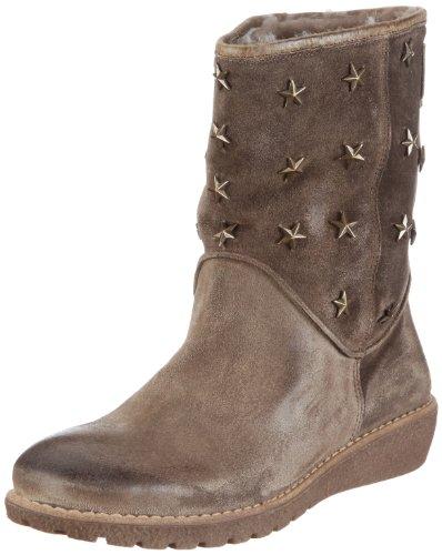 Momino Unisex-Kinder Boot Linea Stiefel, Braun/Circe Alpaca, 31 EU