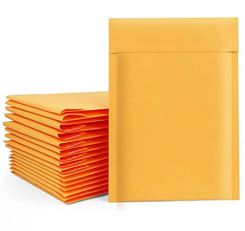 30 sobres de burbujas de 16 x 23 cm, impermeables, con burbujas A5, color amarillo