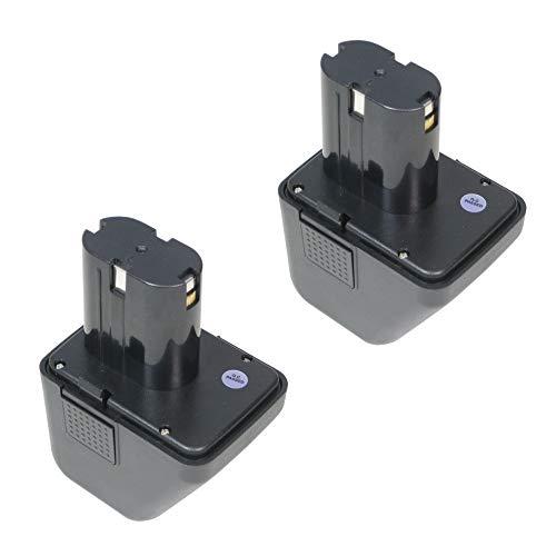 2X Hochleistungs NI-Mh Akku 12V/2500mAh 30Wh ersetzt 70291510061 für Würth Blindnietgerät ANG 12 070291510061 G12 070291510 Master Akku G12 12 V