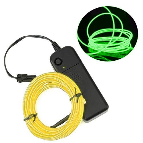 Fimeonee Tira de luz LED, Impermeable Color Cuerda de iluminación con Fuente de alimentación LED Franja para la Cocina del hogar decoración de la Cama de Habitaciones