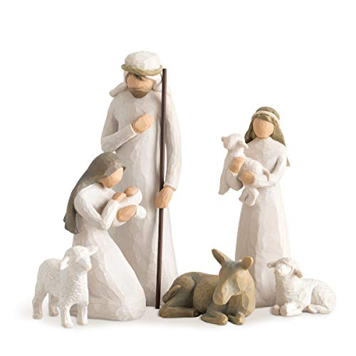 Willow Tree 26005 Ensemble de 6 Figurines Crèche Nativité