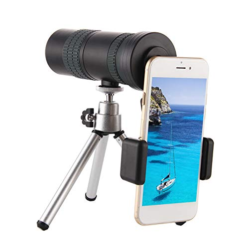 HiFuture Monocular Telescope 8-24X Super Telephoto Zoom HD Monocular With Smartphone Holder Waterproof Telescope For Hiking Camping Travelling Outdoor Sports