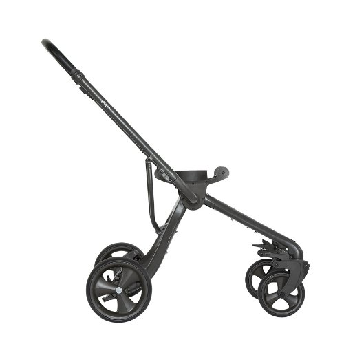 Why Choose Mamas & Papas Mylo Stroller System: Mylo Chassis BBQ Charcoal Black