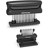 XSpecial 60-Blades Stainless Steel Bold XL Meat Tenderizer Tool