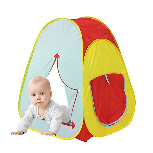 Tech Traders Kids Active Pop Up Play Tent - Play House, Indoor or Outdoor Portable Play Tent Unisex
