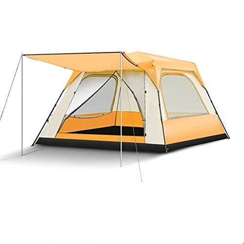 YAOHONG Outdoor Tent, Outdoor Camping Tents Thick, Ultra-lightweight Automatic Tent Camping Equipment, Anti-rain Storm Beach Travel tent (Color : B)