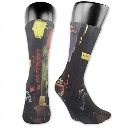 viata sock David Bowie The Rise Calcetines altos Calcetines de tubo suave calcetines novedad tripulación calcetines atléticos cómodos calcetines largos