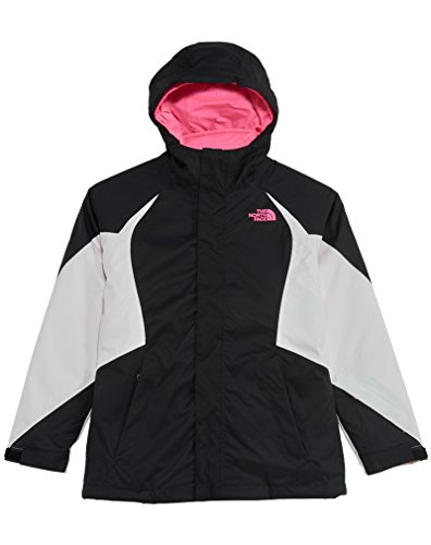 The North Face Kids Girls' Kira Triclimate Jacket (Little Big Kids), TNF Black, MD (10-12