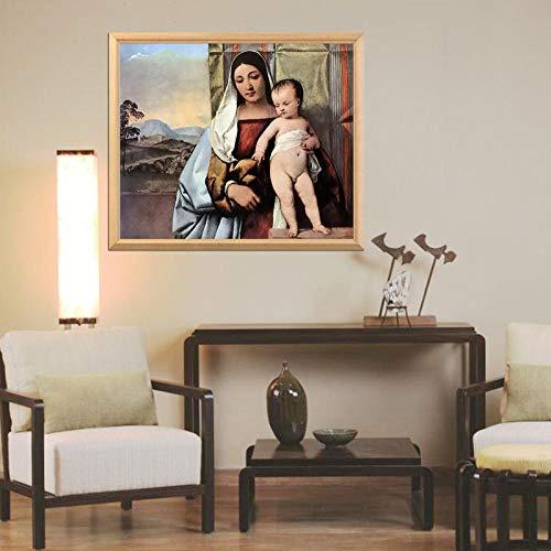 FPRW le plus talentueux italie venetlanschool peintre Tiziano série 5D bricolage diamant peinture plein carré rond diamant vente 40X50Cm