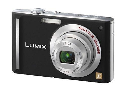 Panasonic DMC-FX55 EG K Digitalkamera (8 Megapixel, 3-fach opt. Zoom, 7,6 cm (3 Zoll) Display, Bildstabilisator) schwarz