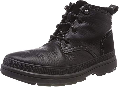 Clarks Rushway Mid GTX Ankle Boots, Schwarz