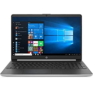 2020 HP 15.6″ Touchscreen Laptop Computer/ 10th Gen Intel Quard-Core i5 1035G1 up to 3.6GHz/ 8GB DDR4 RAM/ 512GB PCIe SSD/ 802.11ac WiFi/ Bluetooth 4.2/ USB 3.1 Type-C/ HDMI/ Silver/ Windows 10 Home