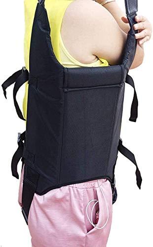 41hPNA161nL - Grúa de paciente portátil Montacargas honda del paciente for el uso casero cinta de transferencia de la cómoda del paciente de la desventaja honda Cama de cuidado del cinturón de cintura ajustable Any