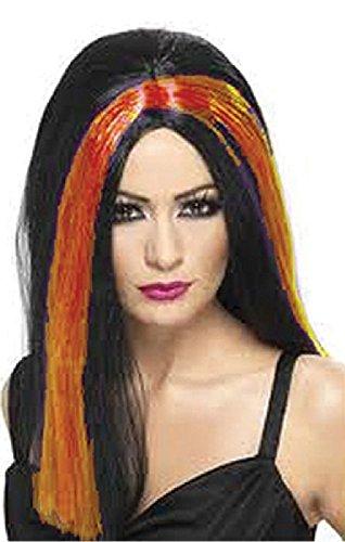 Mondial-Fete - Perruque Grudge Orange