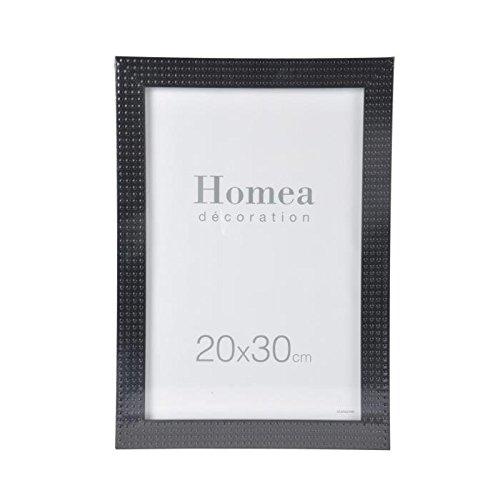 HOMEA Cadre photo Relief 20x30 cm noir
