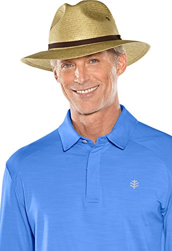 Coolibar Herren Fairway Golf Hut UPF 50 Plus, Antique Tea, L/XL