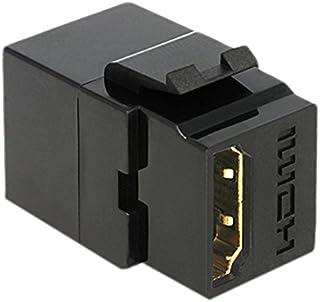 DELOCK Keystone module HDMI bus > HDMI bus zwart