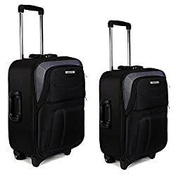 New Jersey Travellers {Polyester SOFTSIDED Suitcase} Scottish Design (24
