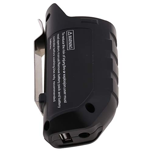 KunmniZ USB Adapter Charger Holster Replacement For BOSCH Professional Li-ion Battery 10.8V BHB120