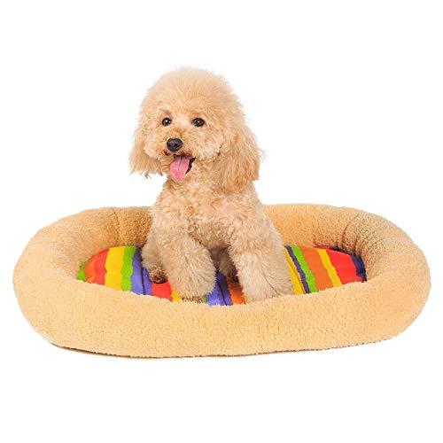 YSJ LTD huisdier hond bed mat warm fleece deken huis nest herfst winter bank huisdier kussen cover handdoek kennel matras voor kat ligstoel