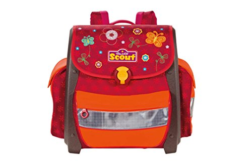 Scout Unisex - Kinder Schulranzen Buddy, paradise rot, 49200046800
