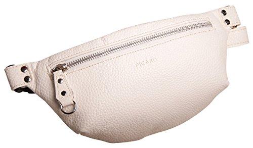 Picard Loire Hüfttasche 2162 Damen Gürteltasche 26x12x4 cm (BxHxT), Farbe:Weiss