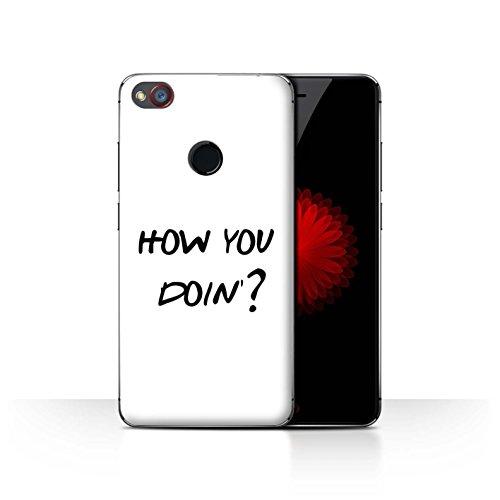 Hülle Für ZTE Nubia Z11 Mini Komisch Sitcom TV Parodie How You Doin'? Design Transparent Ultra Dünn Klar Hart Schutz Handyhülle Case