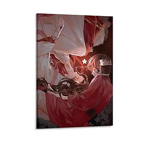 Anime Comic Cartoon Heaven's Ufficiale Benedizione E Corruzione HD Wallpapers Poster Pittura Decorativa Tela Wall Art Soggiorno Poster Camera da Letto 40 x 60 cm