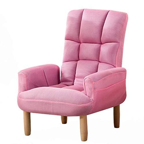 Single Lazy Sofa Chair Adjustable Leisure Sofa Couch Ergonomic Upholstered Armchair Side Chair Guest Chair Dining Chair Padded Comfy Office Desk Club Chair Reception Chair Lounge Coffee Chair