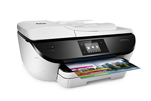 HP OfficeJet 5746 Wireless All-in-One Photo Printer with Mobile Printing in White (Renewed)