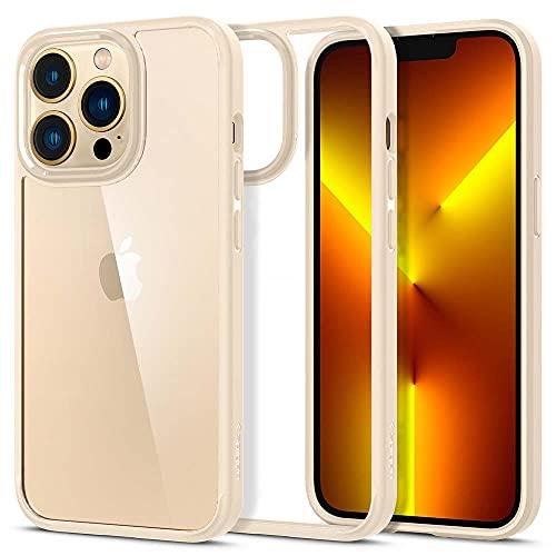 Spigen Cover Ultra Hybrid Compatibile con iPhone 13 Pro - Sabbia beige