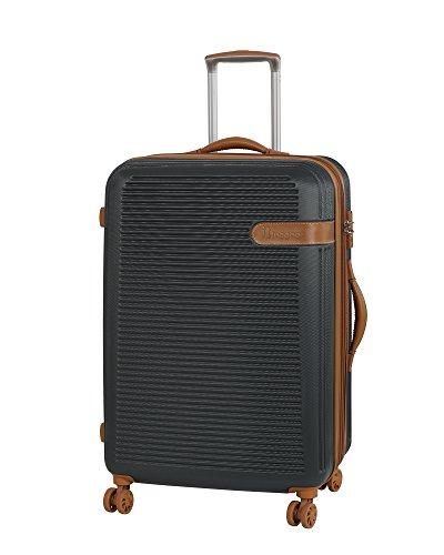 it luggage Valiant Hardside 8 Wheel, Dark Shadow with Almond Trim, Checked-Medium 28-Inch