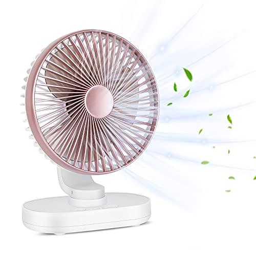 OCUBE Auto Oscillating Desk Fan