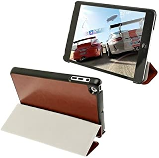 LFPING New 3-Folding Crazy Horse Texture Ultrathin Protective Leather Case with Holder for iPad Mini 1/2 / 3 (Color : Brown)