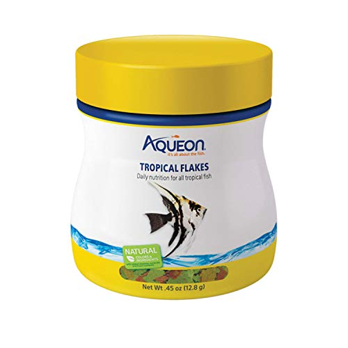 Aqueon Tropical Flakes Fish Food, 0.45-Ounce