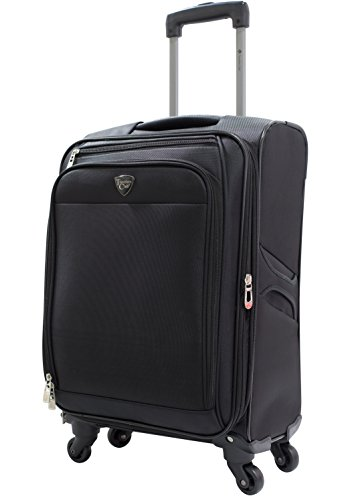 Travelers Club 20' 4 Wheel Spinner Carry-On Luggage