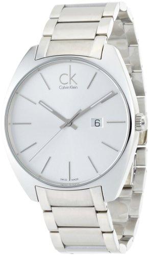 Calvin Klein Reloj Analógico de Cuarzo para Hombre con Correa de Acero Inoxidable - Nano light fushia S