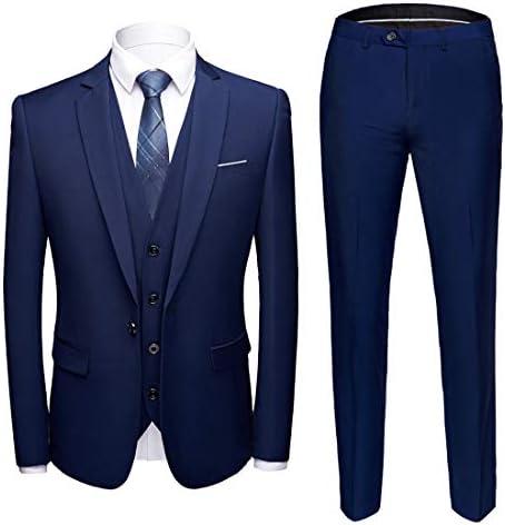 Royal blue mens suit _image3