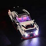 ColiCor Conjunto de Luces Lluminación para Lego 76896 Speed Champions - Nissan GT-R NISMO , Kit de luz LED Compatible con Lego 76896