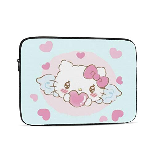 Laptop Sleeve Case- Multi Size Angel Hello Kitty Notebook Computer Protective Bag Tablet Briefcase Carrying Bag,10 Inch