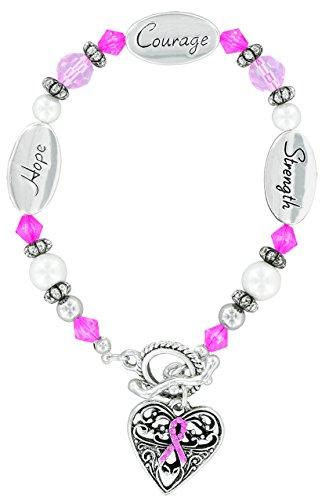 Expressively Yours Bracelet Pink Ribbon