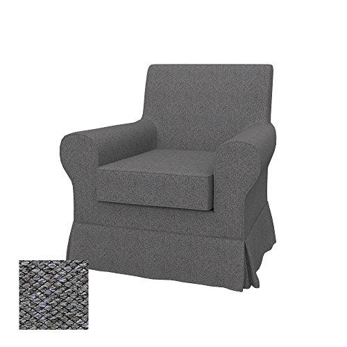 Soferia - IKEA EKTORP JENNYLUND Funda para sillón, Nordic Grey